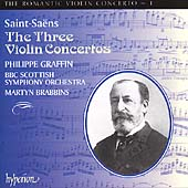 The Romantic Violin Concerto Vol 1 - Saint-Sa&euml;ns / Graffin