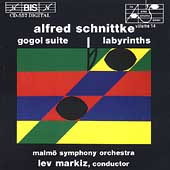 Schnittke: Gogol Suite, Labyrinths / Lev Markiz, Malm&#246; Sym