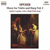 Spohr: Music for Violin and Harp Vol 1 /Langdon, Webb, Dorey