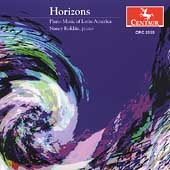Horizons - Piano Music of Latin America / Nancy Roldan