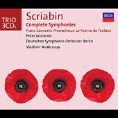 Trio - Scriabin: Complete Symphonies, etc / Ashkenazy, et al