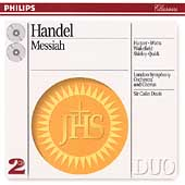 Handel: Messiah / Davis, Harper, et al