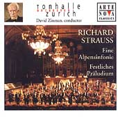 R. Strauss: Eine Alpensinfonie, etc / David Zinman, et al