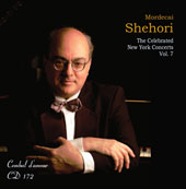 The Celebrated New York Concerts, Vol. 7 - Clementi, Liszt, Bach, Chopin, Moszkowski / Mordecai Shehori, piano