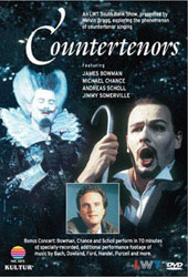Countertenors / Bowman, Chance, Scholl, Somerville [DVD]