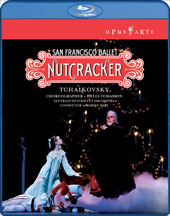 Tchaikovsky: The Nutcracker / San Francisco Ballet / Smith, Powell, Karapetyan [Blu-Ray]