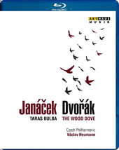 Dvorák: The Wood Dove, symphonic poem, Op. 110; Janácek: Tarus Bulba; Fucík: Marches & Polkas / Czech PO, Neumann (live, Prague 1986) [Blu-ray]