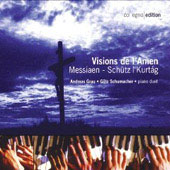 Visions de l'amen - Messiaen, Sch&#252;tz / Grau, Schumacher