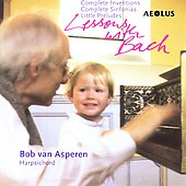 Lessons with Bach / Bob van Asperen