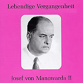 Lebendige Vergangenheit - Josef von Manowarda Vol 2