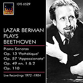 Beethoven: Piano Sonata no 23, 8, etc / Berman