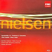 Nielsen: Symphonies, Overtures, Concertos, Wind Quintet & Piano Music / Blomstedt, Woldike, Andsnes, et al