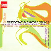 EMI 20th Century Classics - Szymanowski: Violin Concerti, Symphony no 3, etc / Maksymiuk, Wit, Semkow, et al