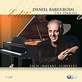 Birthday Edition - Daniel Barenboim the Pianist - Bach, Mozart, Schubert, Piazzolla, Ginastera, Brahms
