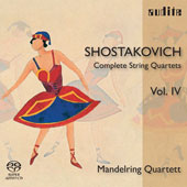 Shostakovich: Complete String Quartets Vol 4 / Mandelring String Quartet