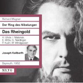 HIstorical - Wagner: Das Rheingold / Keilberth, Uhde, Malaniuk, et al