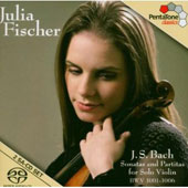 J.S. Bach: Sonatas and Partitas for Solo Violin, BWV 1001-1006 [Hybrid SACD] [Includes DVD Video]