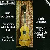 Boccherini: Quintets with Guitar I-VI / Jacob Lindberg