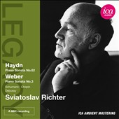 Sviatoslav Richter plays Haydn, Weber, Chopin & Debussy