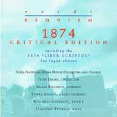 Verdi: Requiem 1874 Critical Edition / Peter Tiboris, et al