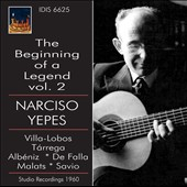 Beginning of a Legend: Narciso Yepes, Vol. 2