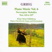 Grieg: Piano Music Vol 6 - Norwegian Melodies Nos 64 to 117