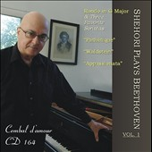 Shehori Plays Beethoven, Vol. 1 / Mordecai Shehori, piano