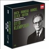 Otto Klemperer conducts Bach, Rameau, Handel, Gluck, Haydn [8 CDs]