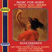 Music for Horn / Adam Friedrich
