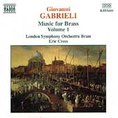 Early Music - Gabrieli: Music for Brass Vol 1 / Crees, et al