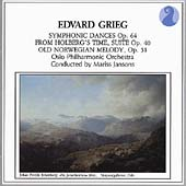 Grieg: Symphonic Dances, Holberg Suite, Romance / Jansons