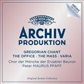 Gregorian Chant: The Office, The Mass, Varia / Chor der Monche der Erzabtei Beuron [4 CDs]