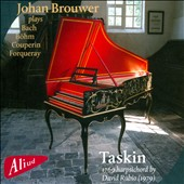 Johan Brouwer plays Bach, Couperin, Antoine Forqueray & Georg Böhm / Johan Brouwer, harpsichord