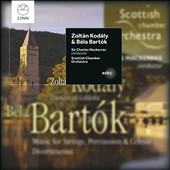 Zoltán Kodály: Dances of Galanta; Béla Bartók: Music for strings, percussion and celeste; Divertimento Sz. 113 / Scottish CO, Mackerras