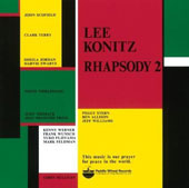 Lee Konitz: Rhapsody, Vol. 2