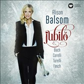 'Jubilo' - Festive Seasonal Baroque works by Bach, Corelli, Torelli and Fasch / Alison Balsom, trumpet; Stephen Cleobury, organ; Kings College Choir; Academy of Ancient Music