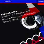 Ovation - Shostakovich: Symphonies no 5 and 9 / Haitink
