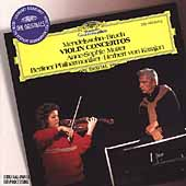 Mendelssohn, Bruch: Violin Concertos / Mutter, Karajan