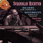Brahms: Piano Concerto No 2, etc / Sviatoslav Richter