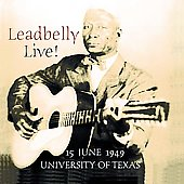 Leadbelly: Leadbelly Live [Fabulous]
