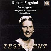 Dorumsgaard: Songs and Arrangements / Flagstad, Moore