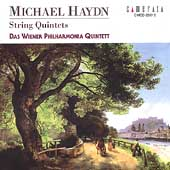 Michael Haydn: String Quintets / Vienna Philharmonia Quintet