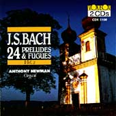 Bach: 24 Preludes and Fugues, Vol 2 / Anthony Newman