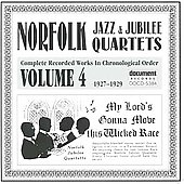 Norfolk Jazz & Jubilee Quartet: Complete Recorded Works, Vol. 4 (1927-1929)