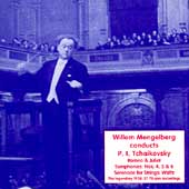 Willem Mengelberg Conducts P.I. Tchaikovsky