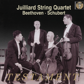 Beethoven, Schubert / Juilliard String Quartet