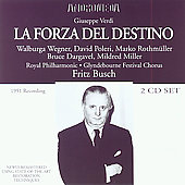 Verdi: La forza del destino / Busch, Wegner, et al