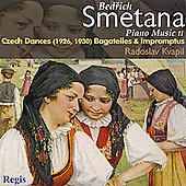 Smetana: Piano Music Vol 2 - Czech Dances, etc / Kvapil