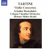 Tartini: Violin Concertos / Daskalakis, M&uuml;ller-Br&uuml;hl, et al