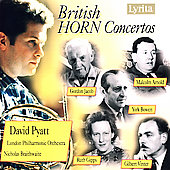 British Horn Concertos - Arnold, Jacob / Pyatt, Braithwaite